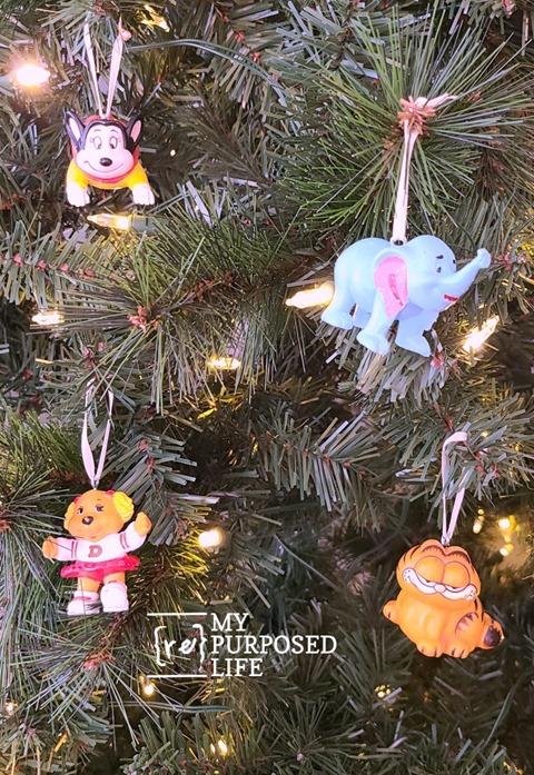 happy meal toy figures as ornaments MyRepurposedLife
