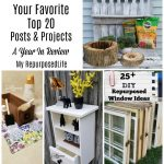 Repurposed DIY Projects from 2020