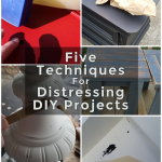 How To Distress DIY Projects