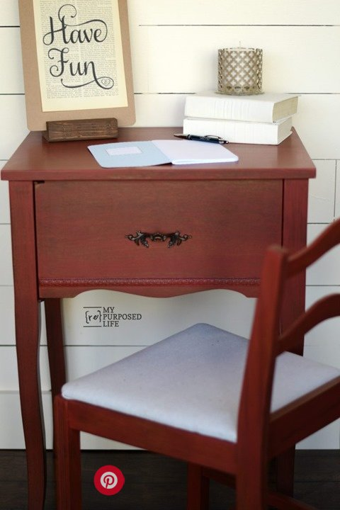 red-writing-desk-MyRepurposedLife.com