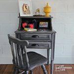 Secretary Desk | Repurposed Sewing Cabinet