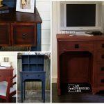 Repurpose Sewing Machine Cabinet Ideas