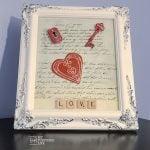 Picture Frame Valentine   Love