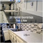 Painted Kitchen Countertops | Again