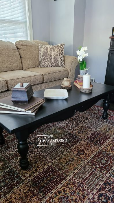 easy thrift store coffee table makeover MyRepurposedLife