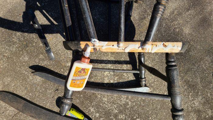 repair wooden rocking chair