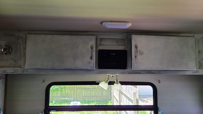 how to paint camper cabinets